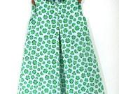 Green Daisies Peasant Dress, Age 5. £28.00, via Etsy.