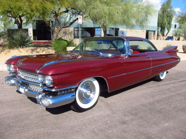 1959 Cadillac Coupe DeVille - Rust Free - Great Diver - Beautiful! Car!!!