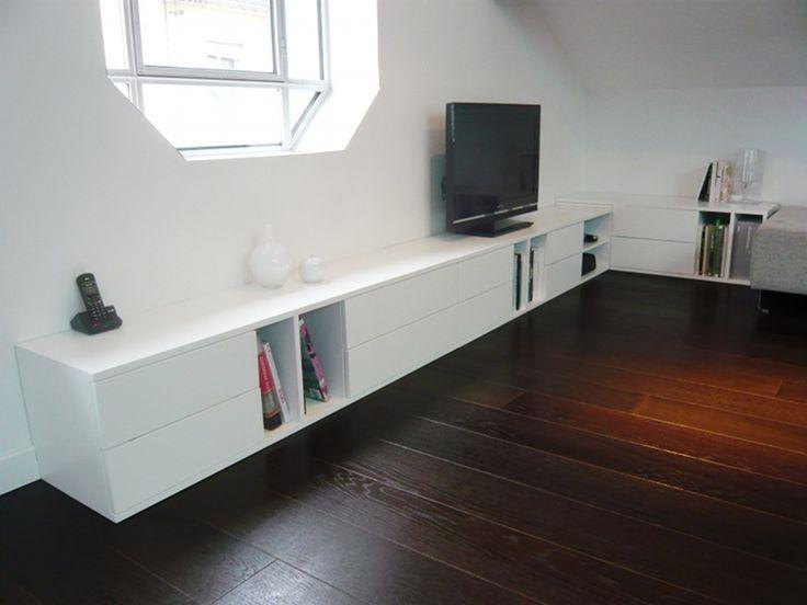10 awesome meuble bas long salon images salon meuble bas meuble et mobilier de salon - Meuble bas ikea salon ...