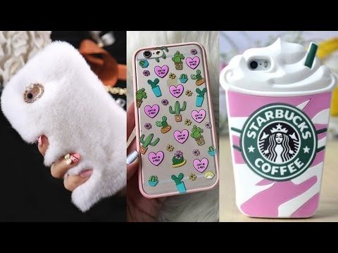 PHONE CASES DIY - EASY CRAFTS FOR CHILDREN - YouTube