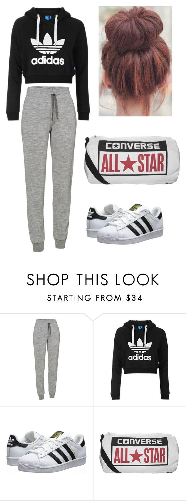 """""""Normal"""" by almahilma on Polyvore featuring Icebreaker, Topshop, adidas Originals and Converse"""