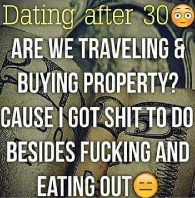 Dating in your 30s quotes