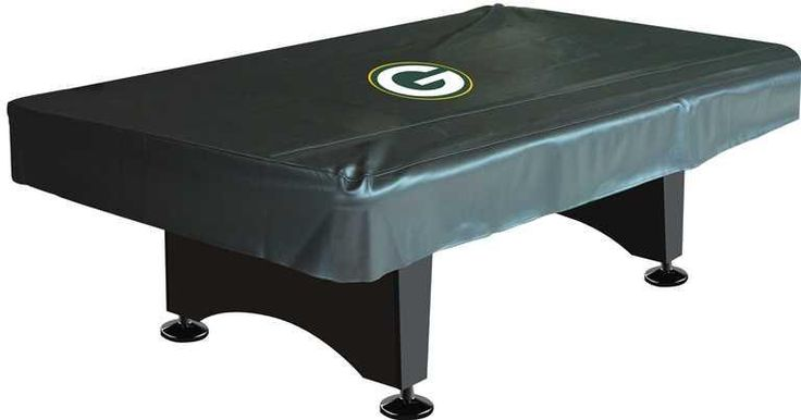 Green Bay Packers 8' Deluxe Pool Table Cover
