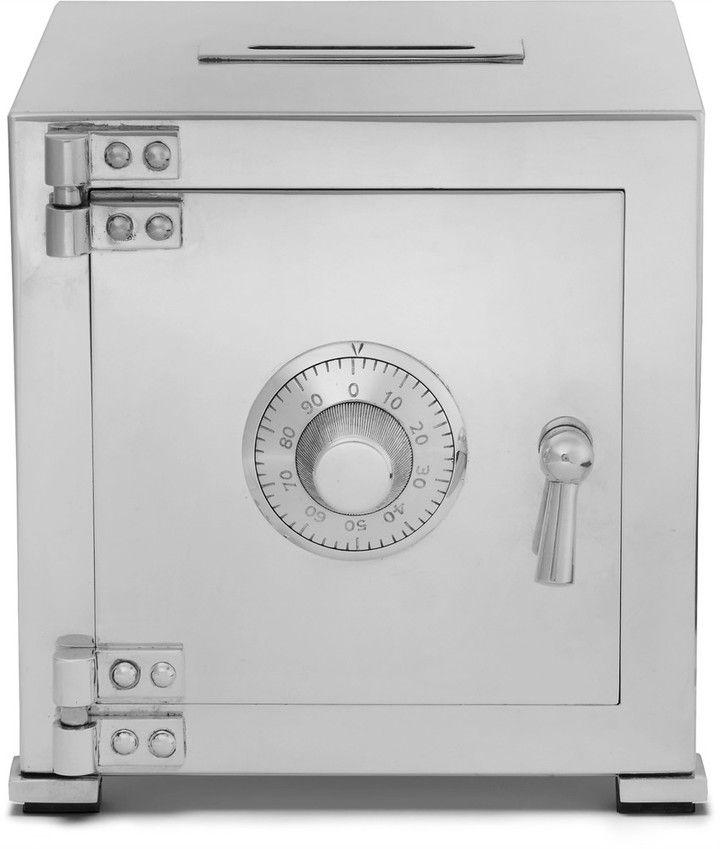 Asprey Sterling Silver Combination Safe Money Bank