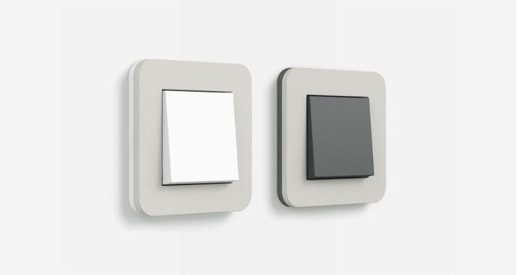Program stikal Gira E3 predstavlja nov svet oblikovanja in samosvojo paleto barv, ki odseva harmonijo in sproščenost. S pomočjo sistema barv NCS (www.ncscolour.com) je nastala ekskluzivna kolekcija toplih sivih in rjavih odtenkov. Blagi obrisi in površine okvirjev, mehke na dotik, dajejo napredni tehniki za zgradbe sodoben in prijazen videz. Kombinacija nosilnih okvirjev in vstavkov v antracitni ali čisti beli barvi z različnimi pokrivnimi okvirji odpira najrazličnejše možnosti oblikovanja.