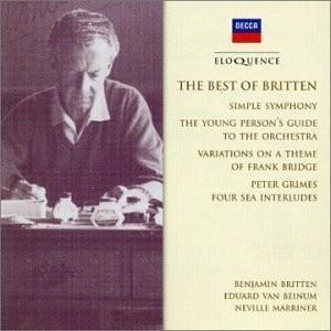 Britten /Marriner/ Beinum The Best Of Britten CD