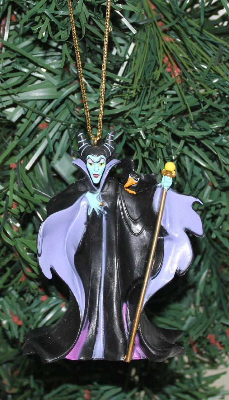 Karate christmas ornament - Maleficent Christmas Ornament