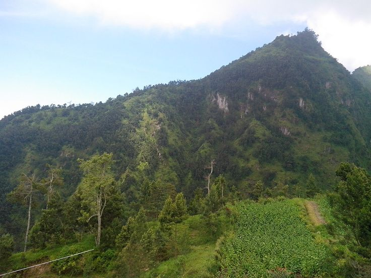 """It's Bukit Ibu. Some people told me it was a """"guide"""" of Mount Merapi eruption."""