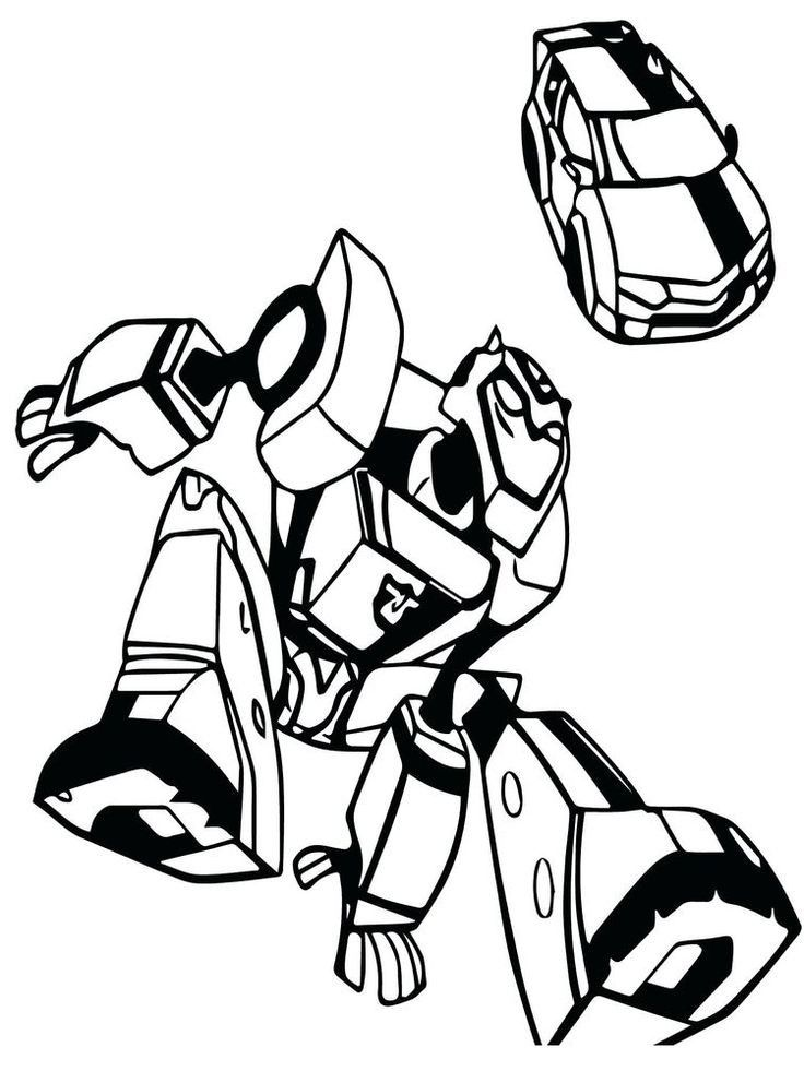 Bumblebee Transformers Car Coloring Pages