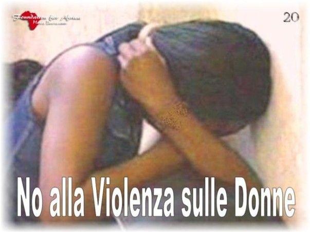 """Campagne Informative e di Sensibilizzazione """"No alla Violenza sulle Donne"""" - https://www.facebook.com/Foundation4Africa/photos/a.655838154488546.1073741830.655775184494843/847978431941183/?type=3&theater"""