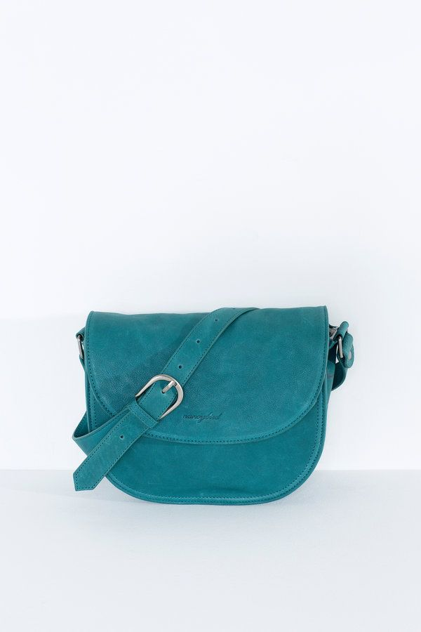 Cute and compact, this structured new style features a rigid body and printed leather gusset  adjustable long strap with buckle finish magnetic...