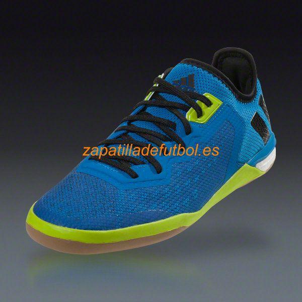 Zapatillas de Soccer sala Adidas Ace 16.1 CT Choque Azul Noche Negro  Metalico