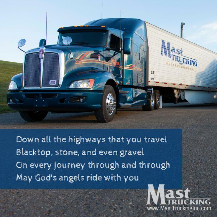 14 best The Trucker Prayer images on Pinterest | Truck drivers ...