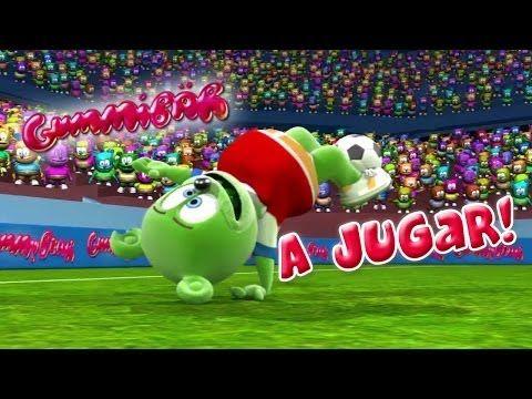 Gummibär A Jugar! World Cup Soccer/Football Song Chilean Spanish Gummy Bear Osito Gominola - YouTube
