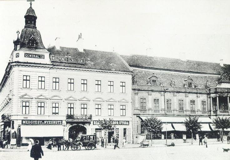 Cluj - Hotel Central - 1914 #romania #travel