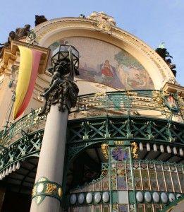 Art Nouveau architecture of the Municipal House #Prague