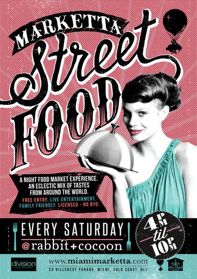 Soak up and indulge in the tastes  of the world whilst listening to  blues , jazz or flamenco music at Marketta Street Food any Saturday night of the month 4pm to 10pm.