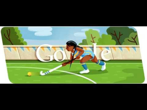 The New Google Logo for Aug 1st 2012 Google Doodle features London 2012 Hockey Event. This is the 6th Google Doodle To Be Released By Google For The Summer Olympics of 2012. Some Nice Doodles have been features including the Mens Rings (5th), Fencing (4th), Diving (3rd), Archery (1st), and Opening Celebration (1st). More Google Doodles To  Come Everyday During The Entire Olympic Events.