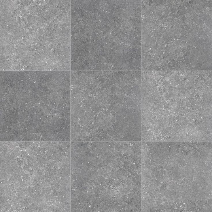 posa grijs vloer gezien bij Provence in zwart Mat Terratinta Stonevolution gres cerame zwart matt