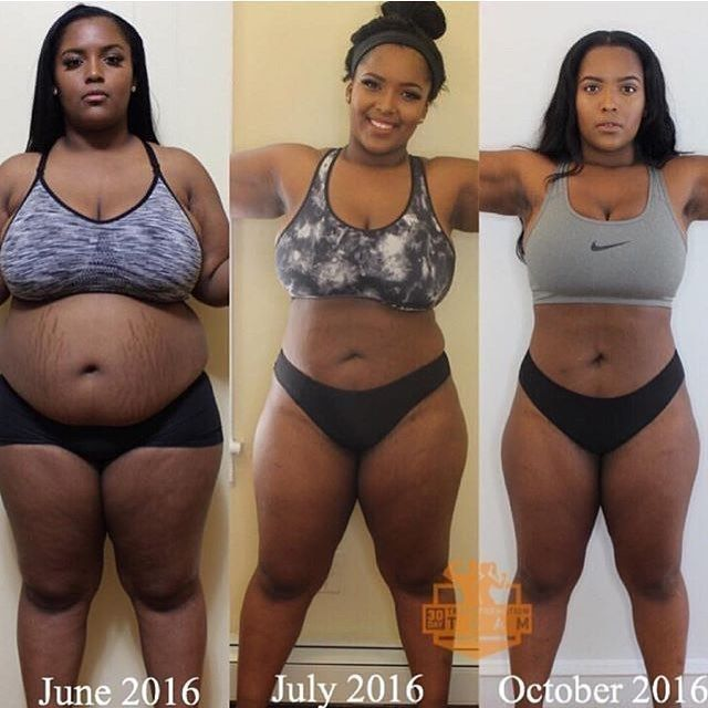 Meet @_autumnstarr : I struggled with weight loss for about 4 years. But in one year I gained 60 pounds. In June I made a decision to change my life. My mother told me she was scared for me because the weight was coming on so fast. I kept getting stretch marks on my stomach arms back thighs and legs. My feet were getting fat and I struggled to wear heels. I knew I had to change but I was stuck looking for the easy way out. I thought about surgery then I thought about the money for it.. My…