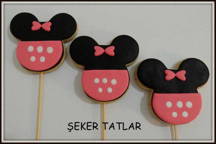 Minnie Mouse Butik kurabiyeler...