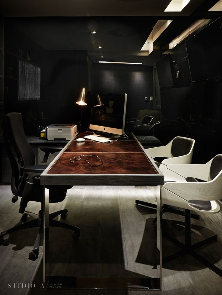 Studio A Signature Projects / Johannesburg, South Africa. Private Executive Office / Office & Residential Design