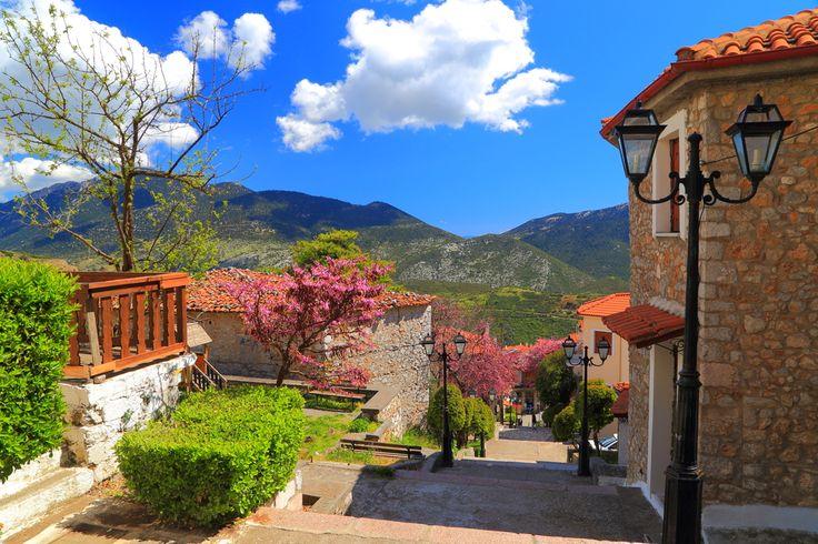 VISIT GREECE  #arachova in spring! #visitgreece #greece