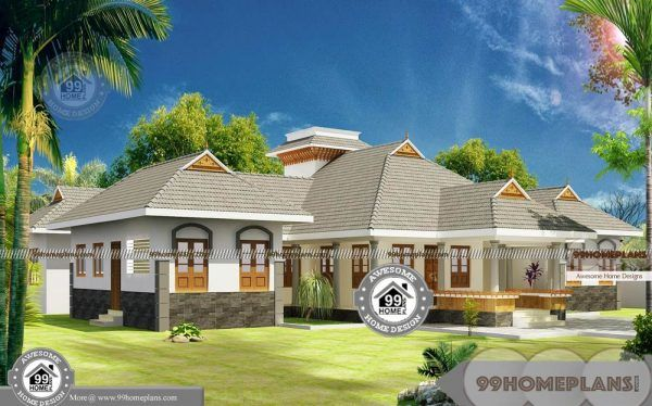 4 Bedroom House Plans One Story With Traditional Style Home Designs Courtyard House Plans Single Story House Floor Plans 4 Bedroom House Plans