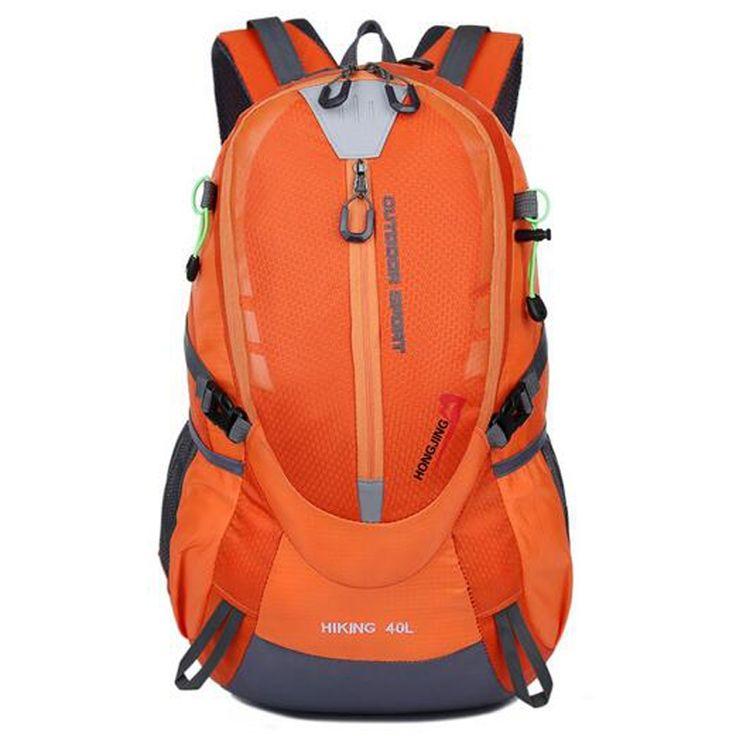 21.88$  Buy here - http://alilsp.shopchina.info/go.php?t=32672971550 - 2017 New Fashion Orange Backpack Women Men Waterproof Pack Rucksack Knapsack Men's Backpacks Bolsas Mochila High Quality Z049  #magazineonlinewebsite