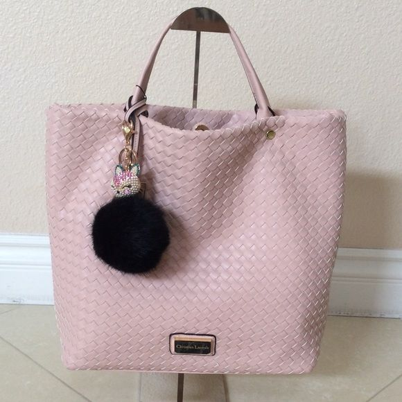 NWT Christian Lacroix Woman Handbag Very soft leather, very nice design and good for daily wear. Include Pom Pom bag accessory Christian Lacroix Bags Satchels