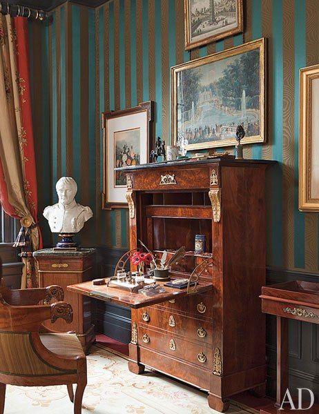 Gentleman's Empire Style Bedroom