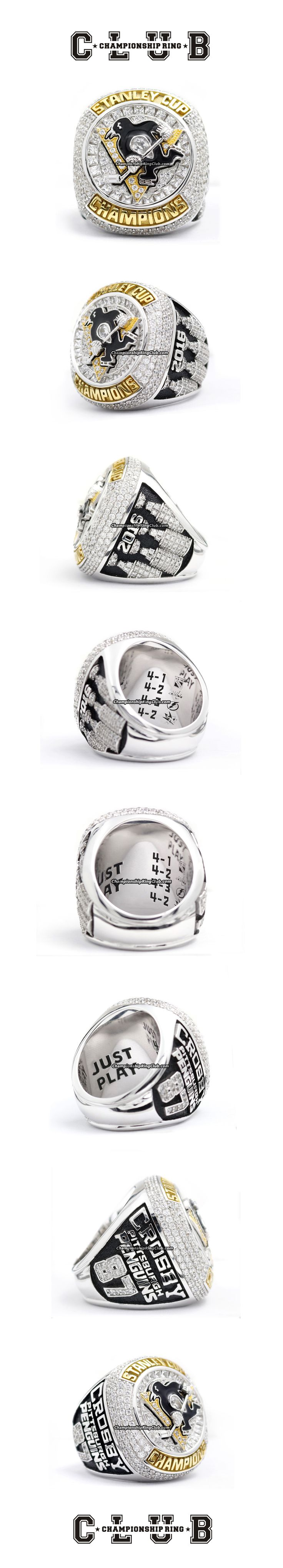 2016 Pittsburgh Penguins NHL Stanley Cup Championship Ring