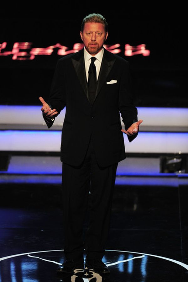 Boris Becker la premiile Laureus