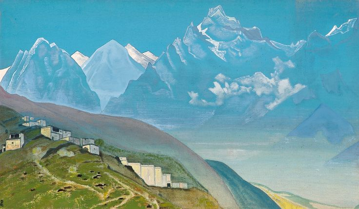 Николай Рерих. На Кайлас. Лахул. Nicholas Roerich. To Kailas. Lahul.