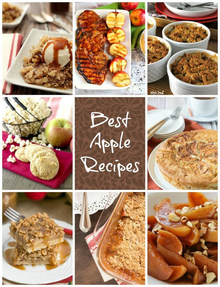 Best Apple Recipes for #NationalAppleMonth @lizzydo