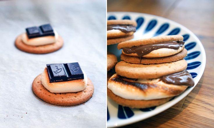 Slik lager du enkel s'mores cookies | EXTRA -
