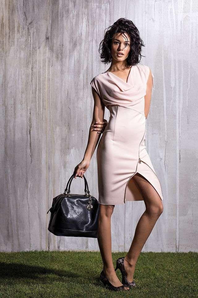 Abbigliamento Rinascimento Primavera Estate 2014 - Abito rosa cipria Rinascimento