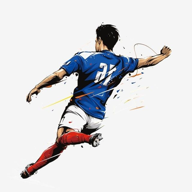 Soccer Player Football Player Football Athlete Png Transparent Clipart Image And Psd File For Free Download Soccer Backgrounds Soccer Players Soccer