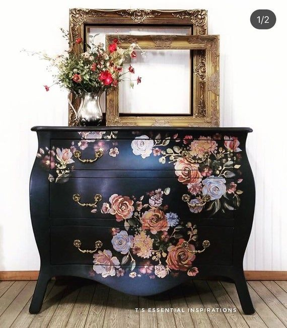 Decoupage Furniture Funky Painted, What S Trending In Painted Furniture