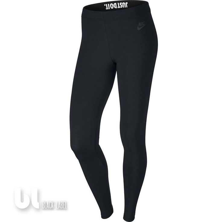 Nike Leg-A-See Just Do It Damen Sport Leggings Fitness Jogging Leggings Schwarz in Kleidung & Accessoires, Damenmode, Fitnessmode   eBay!
