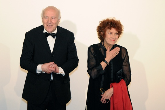 Michel Piccoli and Andrea Ferreol of The Big Feast