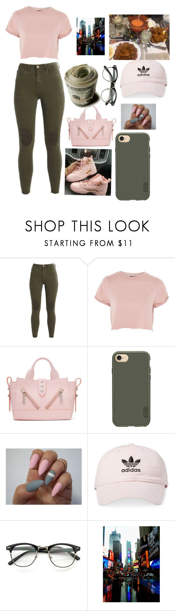 """"""""""" by queenbles ❤ liked on Polyvore featuring Topshop, Kenzo, Casetify and adidas"""