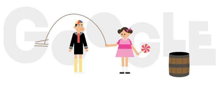 Google comemora 45 anos da primeira transmissão de Chaves