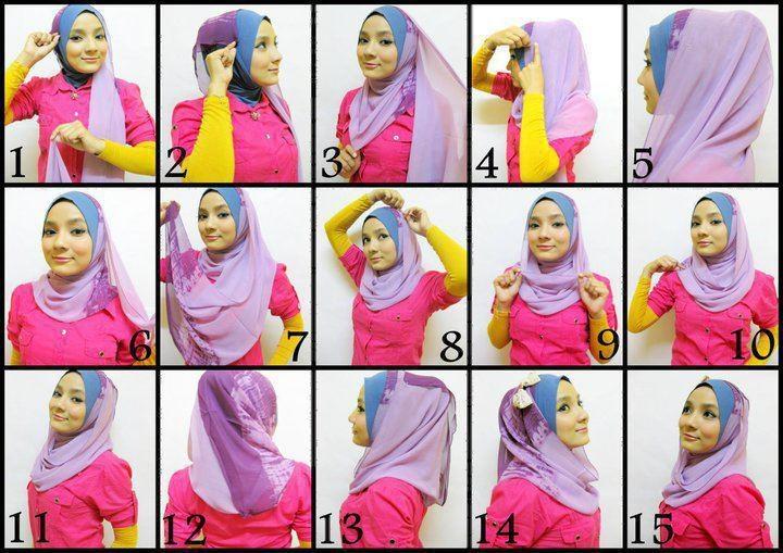 Simply pashmina hijab tutorial