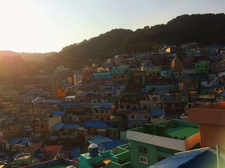 Up and above, Gamcheon culture village