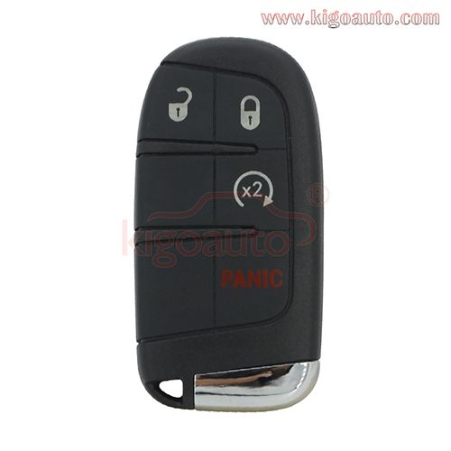 M3n 40821302 Smart Key Case 4 Button For Jeep Renegade 2015 2016