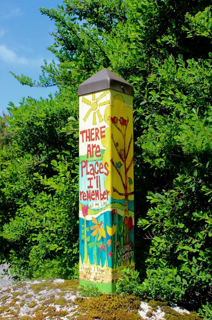 In My Life Art Pole 20 Totems Garden Poles Peace Pole