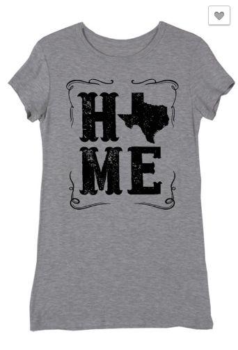 "Texas ""Home"" Shirt"