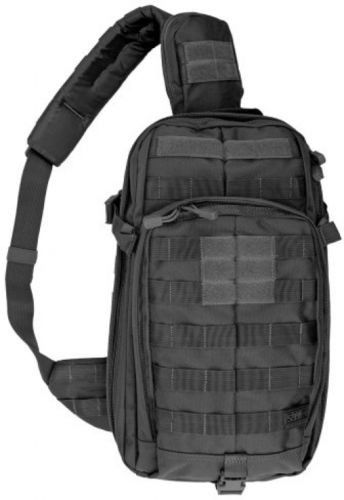 Black Tactical Assault Gear Mobile Operation Attachment Cross Body Shoulder Bag