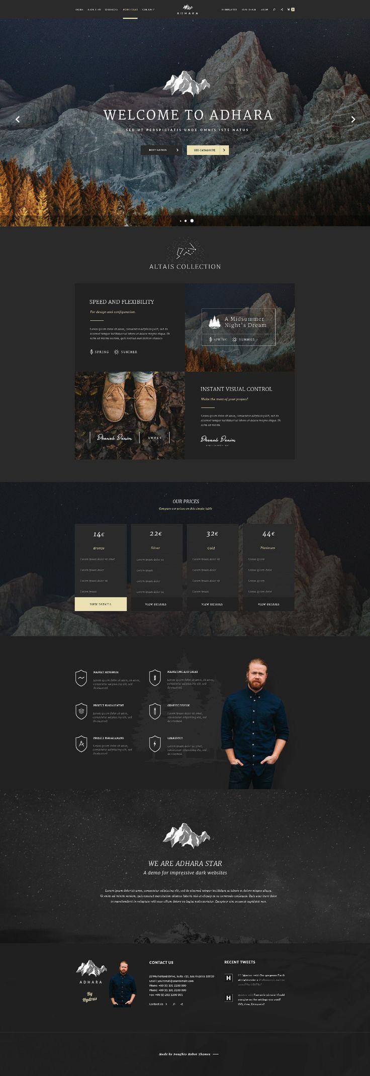 Hydrus Web Design Inspiration By Naughtyrobot Part 2   Siteoutsite